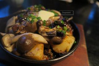 食べ物,秋,屋内,野菜,バター,料理,鉄板,食欲,きのこ
