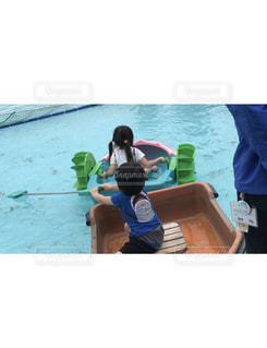 ボートの漕ぎ方の写真・画像素材[1562782]