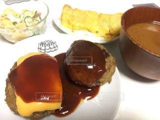 食べ物,ハンバーグ,夕飯,食欲の秋