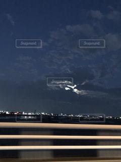 夜の街の景色の写真・画像素材[1866627]