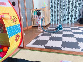 屋内,床,掃除