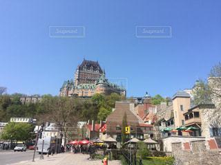 風景,建物,海外,綺麗,青空,旅行,写真,カナダ,Canada,北米,ケベック