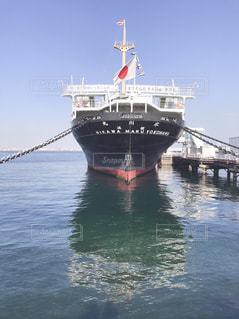 水体の大型船の写真・画像素材[1609016]