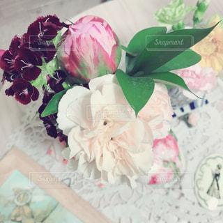 花,白,ホワイト