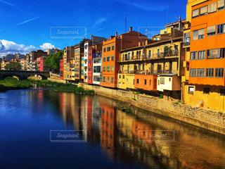 スペインのジローナの写真・画像素材[2381268]