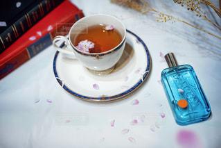 朝と香りとティータイムの写真・画像素材[2072578]
