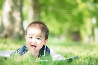 赤ちゃんの写真・画像素材[2262179]