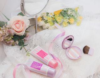 ピンクとパープルな空間4の写真・画像素材[3039885]