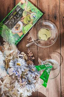 食べ物,花,緑,テーブル,床,健康,木目,ベジトレル
