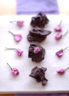 桜,ピンク,カラフル,アーモンドロカ,マウンテンシンダークチョコワイルドベリー