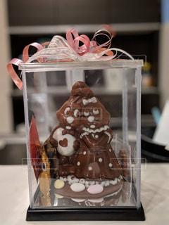 プレゼント,お菓子,チョコレート,ベルギー,バレンタイン,チョコ,ラッピング,人形チョコ