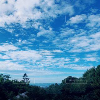 風景,秋,雲,青空,秋空
