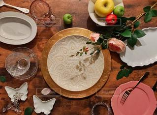 かわいい、ゴージャスな食器類の写真・画像素材[1576910]