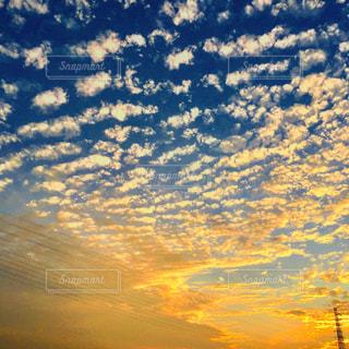 秋の空の写真・画像素材[1500750]