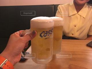 夏,お酒,グラス,ビール,韓国,乾杯,ドリンク,友達,ジョッキ,アイスビール