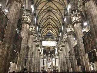 ヨーロッパ,絵画,天井,イタリア,海外旅行,大聖堂,ミラノ,ドゥオーモ