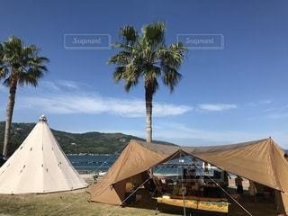 キャンプの写真・画像素材[2392255]