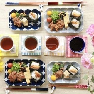 家族の朝食の写真・画像素材[2623610]