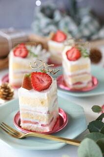 クリスマスケーキの写真・画像素材[3978610]