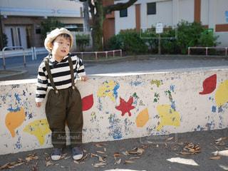 秋色コーデの写真・画像素材[1592450]