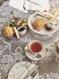 食べ物,秋,スコーン,イギリス,チーズ,サラダ,紅茶,料理,食欲,クリームティ,デボン