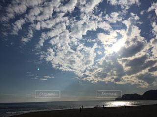 秋空の海の写真・画像素材[1506553]