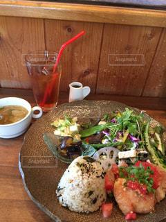 ランチ,かわいい,皿,料理,おいしい,食,素敵,食欲の秋