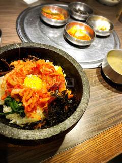 食べ物,食べる,韓国,石焼ビビンバ
