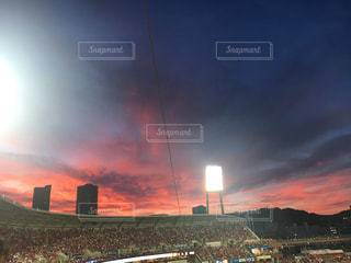 夕焼け空の写真・画像素材[1508147]