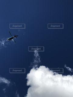 空,屋外,雲,青空,飛行機,ヘリコプター,秋空,秋の空
