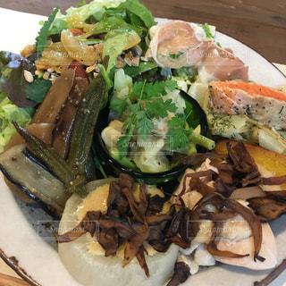 食べ物,秋,食事,ランチ,野菜,安納芋,野菜たっぷり,品数豊富