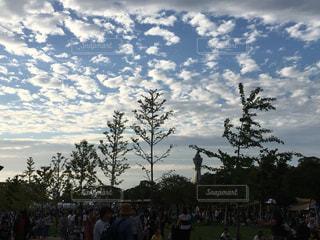風景,空,秋,大阪,雲,水色,通天閣,秋空