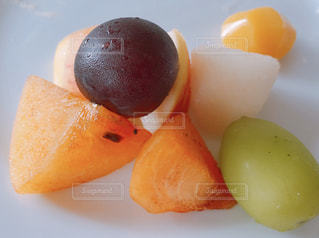 栗,果物,林檎,柿,ぶどう