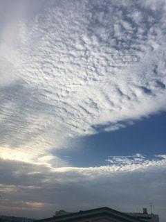 自然,空,雲,秋空