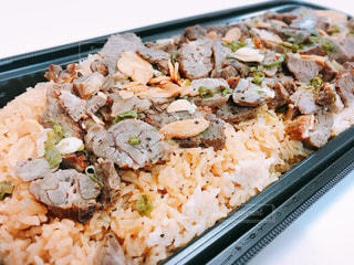食べ物,肉,米,料理,牛肉,ガーリック