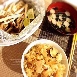 和食,松茸,秋の味覚,食欲の秋,いい香り,かぼす,すまし汁,松茸ご飯,松茸のホイル焼き