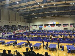 スポーツ,屋内,人物,体育館,卓球,複数,ホール