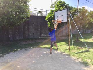 公園,バスケ,レイアップ