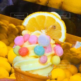 おいりソフト。瀬戸内レモン味の写真・画像素材[1538333]
