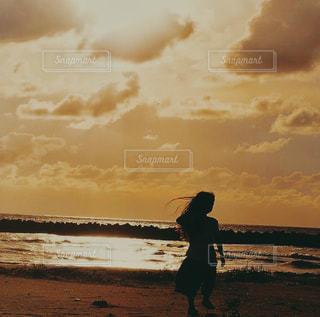 砂浜の写真・画像素材[2330521]