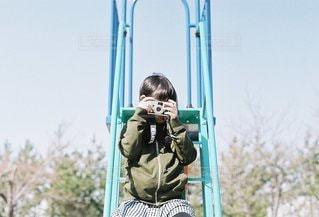 カメラマンgirlの写真・画像素材[3381697]