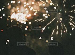 打ち上げ花火の写真・画像素材[3650774]