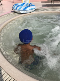 プールプールプールの写真・画像素材[1513180]