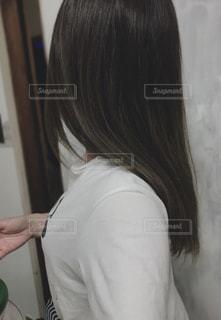 つや髪の写真・画像素材[2306185]