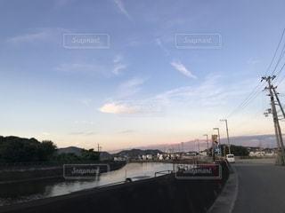 川と空の写真・画像素材[2425758]