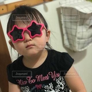 ファッション,アクセサリー,ピンク,サングラス,女の子,眼鏡,星,人物,人,可愛い,2歳,メガネ