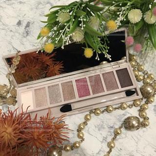 花,ピンク,美容,コスメ,化粧品,パール,アイシャドウ,アイカラー