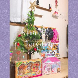 クリスマスプレゼントの写真・画像素材[2858116]