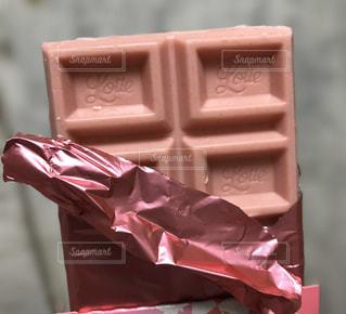 ピンクの箱の写真・画像素材[2959645]