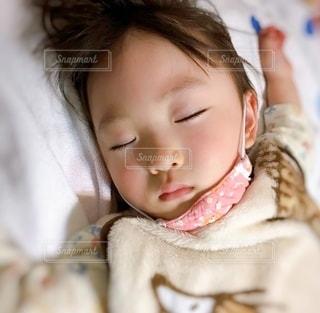 寝る時もの写真・画像素材[3539190]